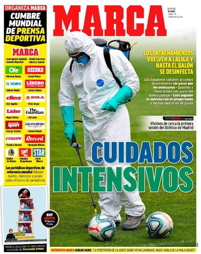 Portadas Diarios Deportivos Domingo 10/05/2020