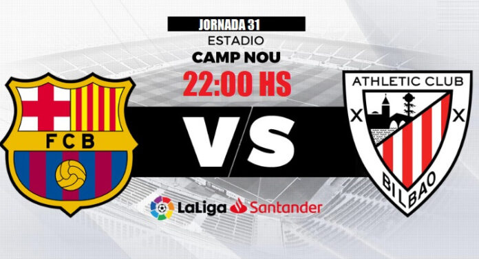 Alineación Barcelona-Athletic Jornada 31   La Liga 2020