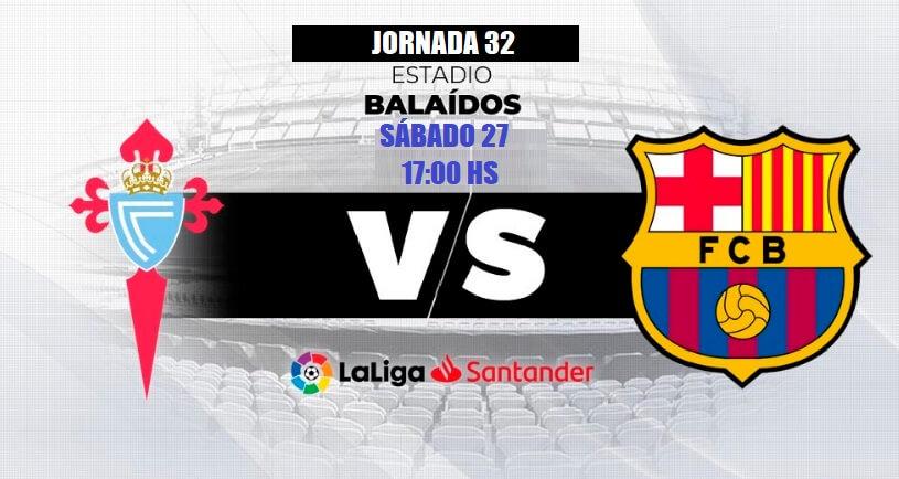 Alineación Celta-Barcelona Jornada 32 | La Liga 2020