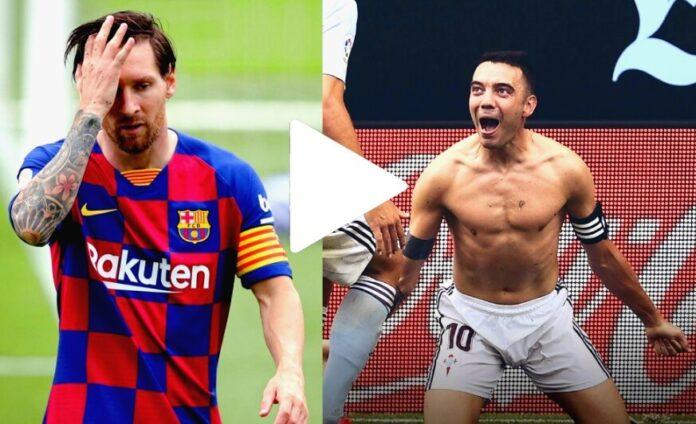 Así fue el Golazo de Iago Aspas que podría costarle la Liga al Barça