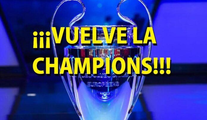 Vuelve la Champions el 7 de agosto !!!