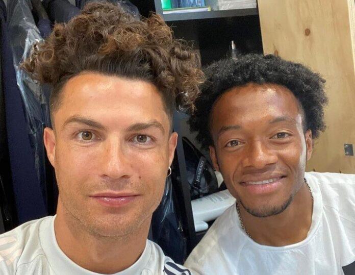 Cristiano Ronaldo estrena el look del 'panita' Cuadrado