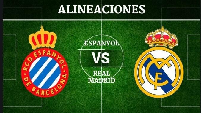 Alineación Espanyol-Real Madrid Jornada 32 | La Liga 2020