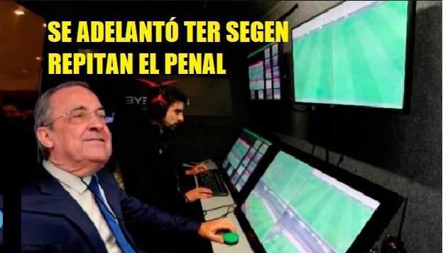 Memes Barcelona-Atlético 2020