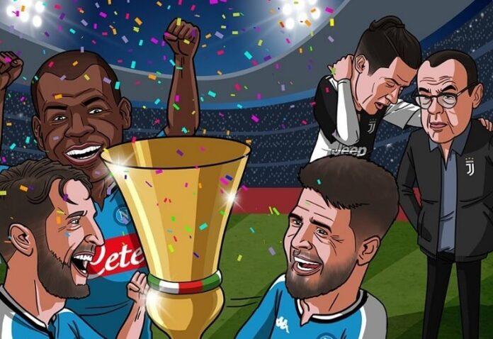 Los Memes del Napoli Campeón de la Copa Italia tras vencer a la Juve en los penales