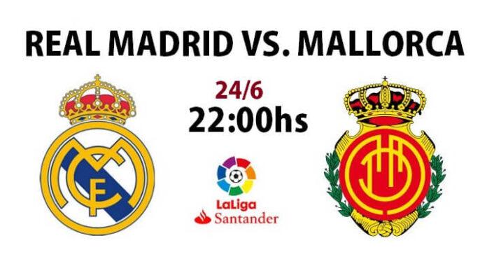 Alineación Real Madrid-Mallorca Jornada 31