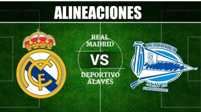 Alineación Real Madrid-Alavés Jornada 35 | La Liga 2020