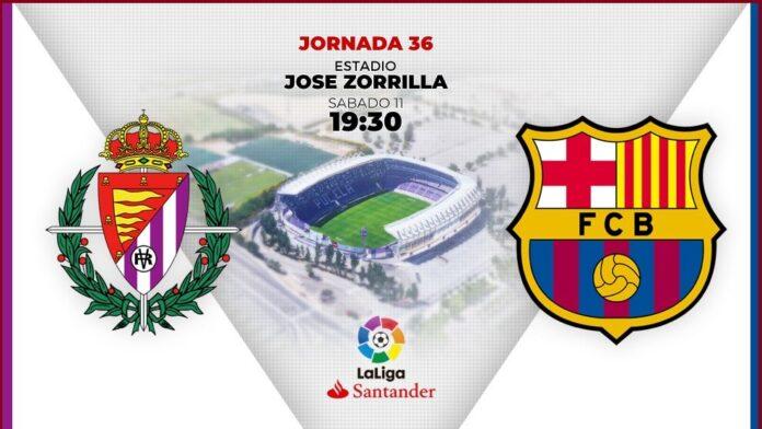 Alineación Valladolid-Barcelona Jornada 36