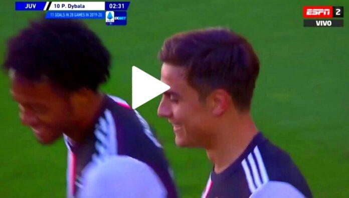 Golazo de Dybala ante el Torino
