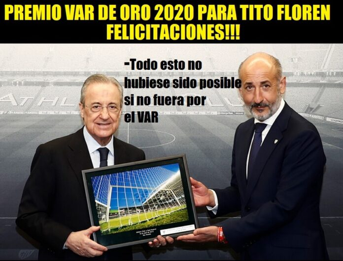 Memes Athletic-Real Madrid 2020