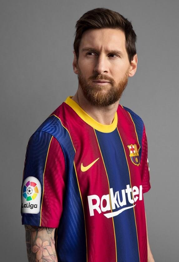 Camiseta Barcelona 2020-2021 messi